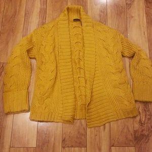 MODA mustard yellow sweater